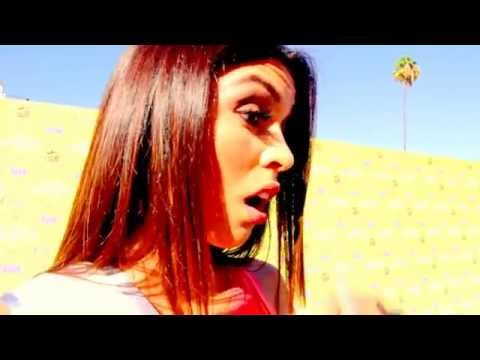 Miss Santa Monica Chas with Kimberly Jesika Teen Choice Awards 2015