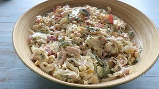 Потрясающий вкусный салат с капченой курицей Salad with smoked chicken