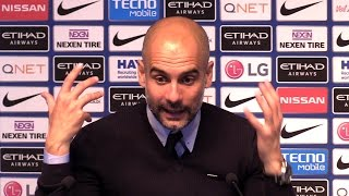 Manchester City 3-1 West Brom - Pep Guardiola Full Post Match Press Conference