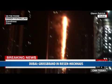 Dubai: Großbrand in Riesen-Hochhaus