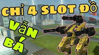 Chiến Lược 4 Slot Đồ Vẫn #1 Bảng KQ Tại Rank Thấp - War Robots Việt Nam