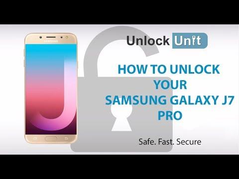 samsung j7 pro network unlock code free