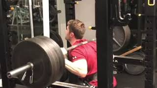 405 Pound Squat Dropset - Advanced Leg day