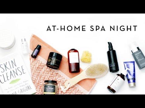 At-Home Spa Night | makeupTIA