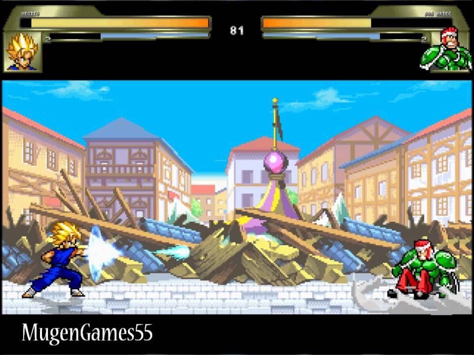 Jump Infinity Stars (Mugen) Vegito vs Don Krieg