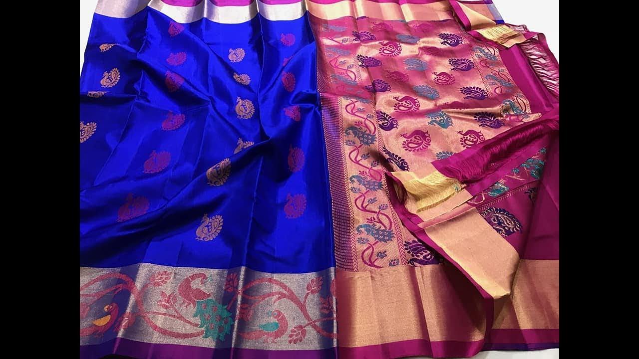 Light Weight Kanchi Soft Silk Sarees || Gadwal Silk Sarees with low