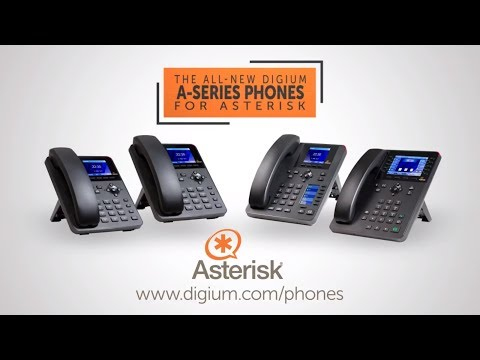 Digium A-Series IP Phones for Asterisk | The Best Value for Your Asterisk Phone System