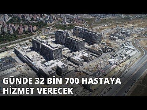 Başakşehir Şehir Hastanesi'nin yüzde 60'ı tamamlandı