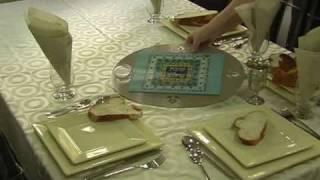 Judaica Gifts - Shabbat Shalom Challah Board By Dorit Judaica