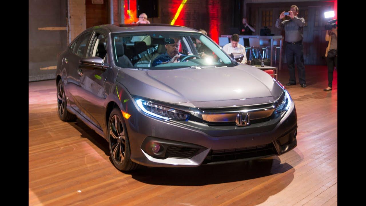 2016 Honda Civic Sedan First Look HD