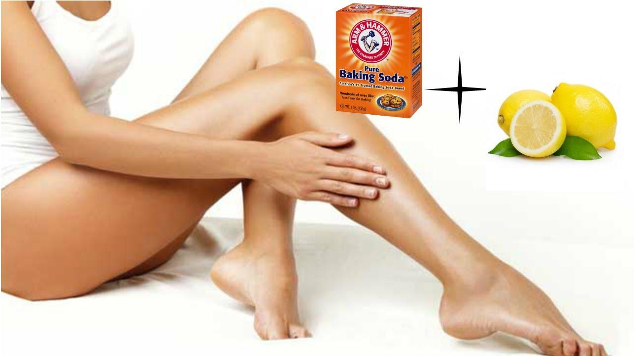 Como quitar manchas de las piernas rapido
