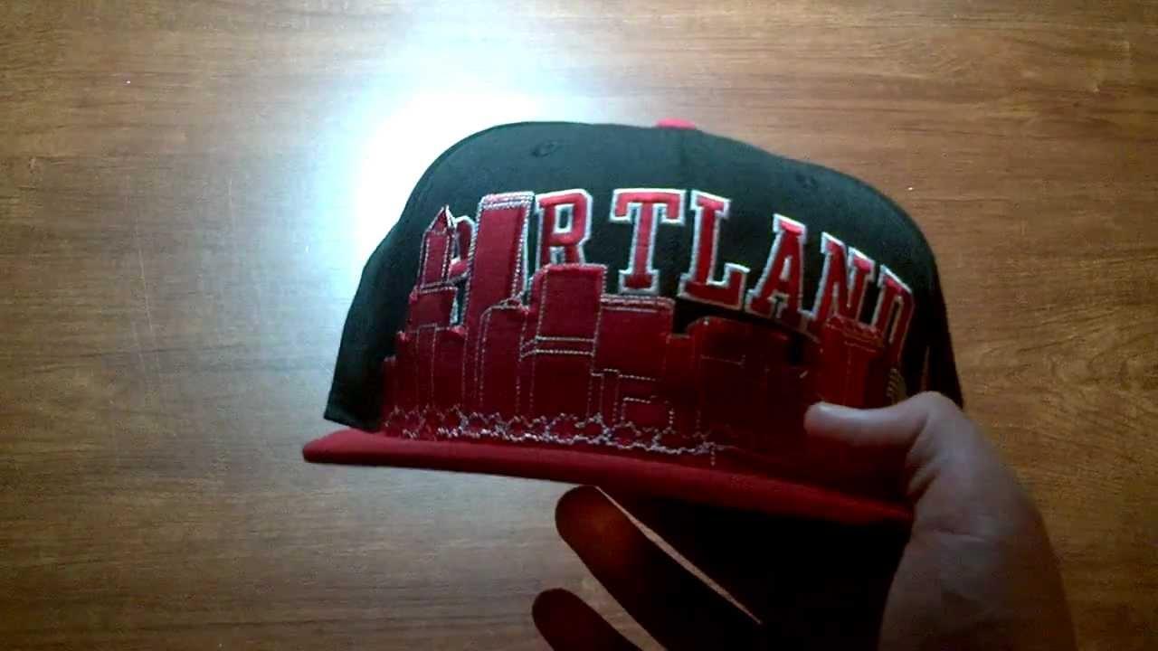 Portland Trail Blazers Skyline hat Review - YouTube 707ea220b9f