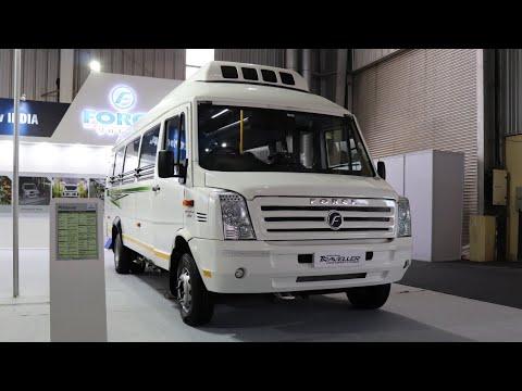 Traveller 2018 Force Motors All Models at BusWorld CNG,Rural etc