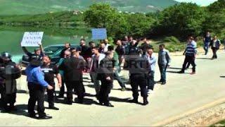 A1 Report - Protestë për energjinë në Kukës policia