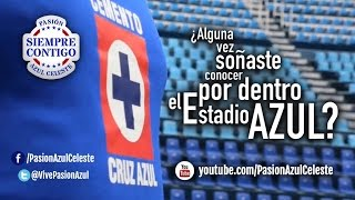 Vive la Pasión del Estadio Azul.