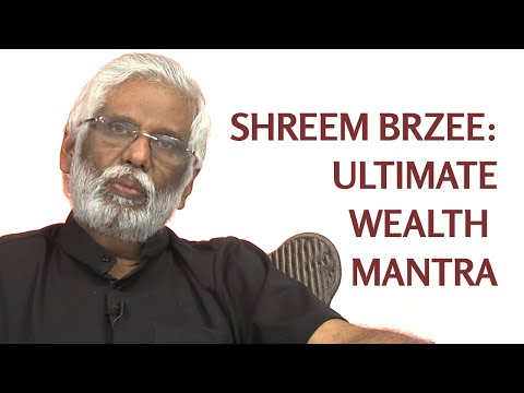 Shreem Brzee: Dr. Pillai Explains The Ultimate Wealth Building Mantra from YouTube · Duration:  6 minutes 15 seconds