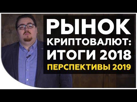 Рынок криптовалют: итоги 2018 года и перспективы на 2019 | Cryptonet