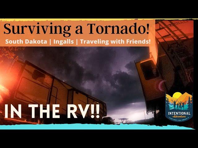 South Dakota | Surviving a Tornado in the RV! | Ingalls Homestead