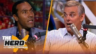 Houshmandzadeh: Nothing not to like about Jimmy G, talks Kyler, Jets, Browns & more | NFL | THE HERD