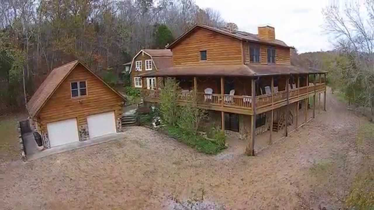 youtube tn house cabins watch sale vernon for tennessee bethpage mt log rd in