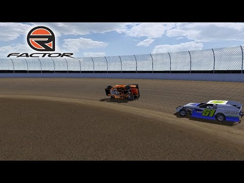 rFactor - Modified Mania - Willamette Speedway Crash