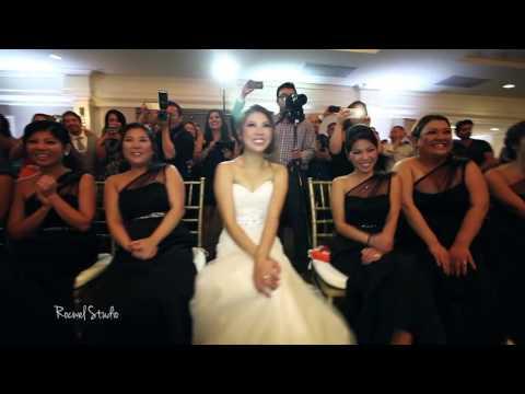 The Amazing Wedding Dance Off (Epic, Cute, Funny, Hilarious!).  Bridesmaids vs Groomsmen