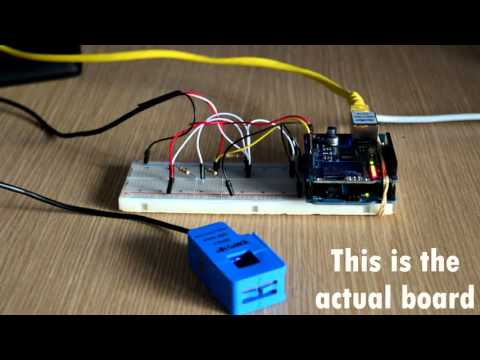 Online Power Consumption Meter - IEEE DIY Project