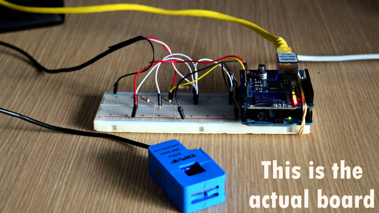 Online power consumption meter ieee diy project youtube