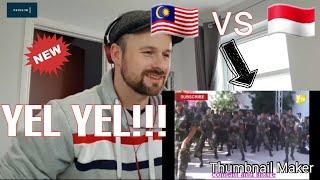 Adu YEL YEL!!! TENTARA MALAYSIA vs Indonesia (TNI)..Scottish Reaction 🏴