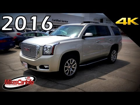 2016 GMC Yukon Denali - Ultimate In-Depth Look in 4K - YouTube