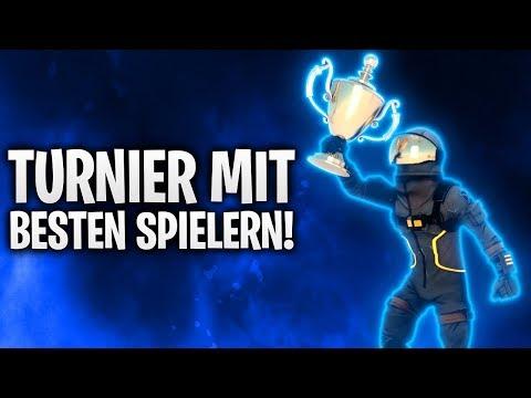 TURNIER GEGEN DIE BESTEN DEUTSCHEN SPIELER! 🏆 | Fortnite: Battle Royale