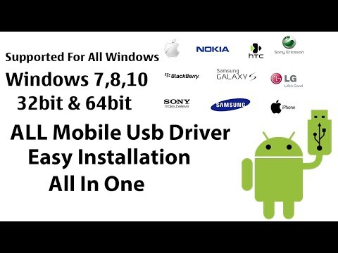 All Mobile USB Driver Intallation | MTK,SPD,Qualcomm,Samsung,ADB|