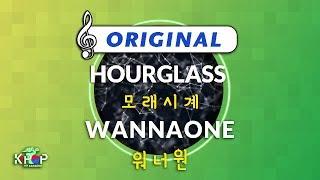 [KPOP MR 노래방] 모래시계 - 워너원 (Origin Ver.)ㆍHOURGLASS - WANNAONE