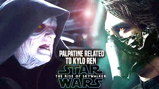 Palpatine Is Related To Kylo Ren In The Rise Of Skywalker! Leaked Hints (Star Wars Episode 9)