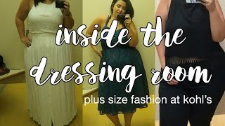 INSIDE THE DRESSING ROOM | Plus Size Fashion at KOHL'S