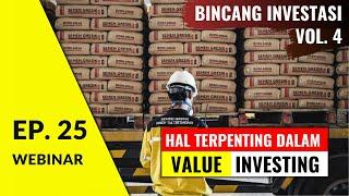 Gambar cover Kunci Sukses Investasi Saham: Studi Kasus Investasi Saya di SMGR | WBI Ep. 25
