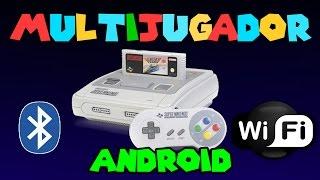 Como jugar Super Nintendo Multijugador en Android | Bluetooth y Wi-Fi