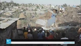 قتلى في انهيار أرض مكب للنفايات في إثيوبيا