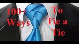 Animated Eldredge Knot - How to Tie a Necktie -  How to Tie a Tie