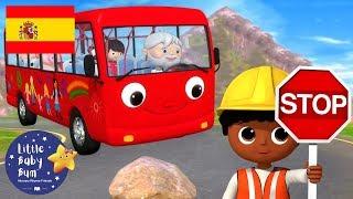 Canciones Infantiles   Las Ruedas del Autobús P.14   Dibujos Animados   Little Baby Bum en Español