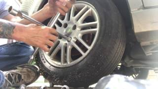 How to install ABS rings. 2008 Ford Focus.