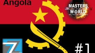 Geopolitical Simulator 3 - Angola - Estabilizando a economia - Ep1 - GamePlay/PC/PT-BR