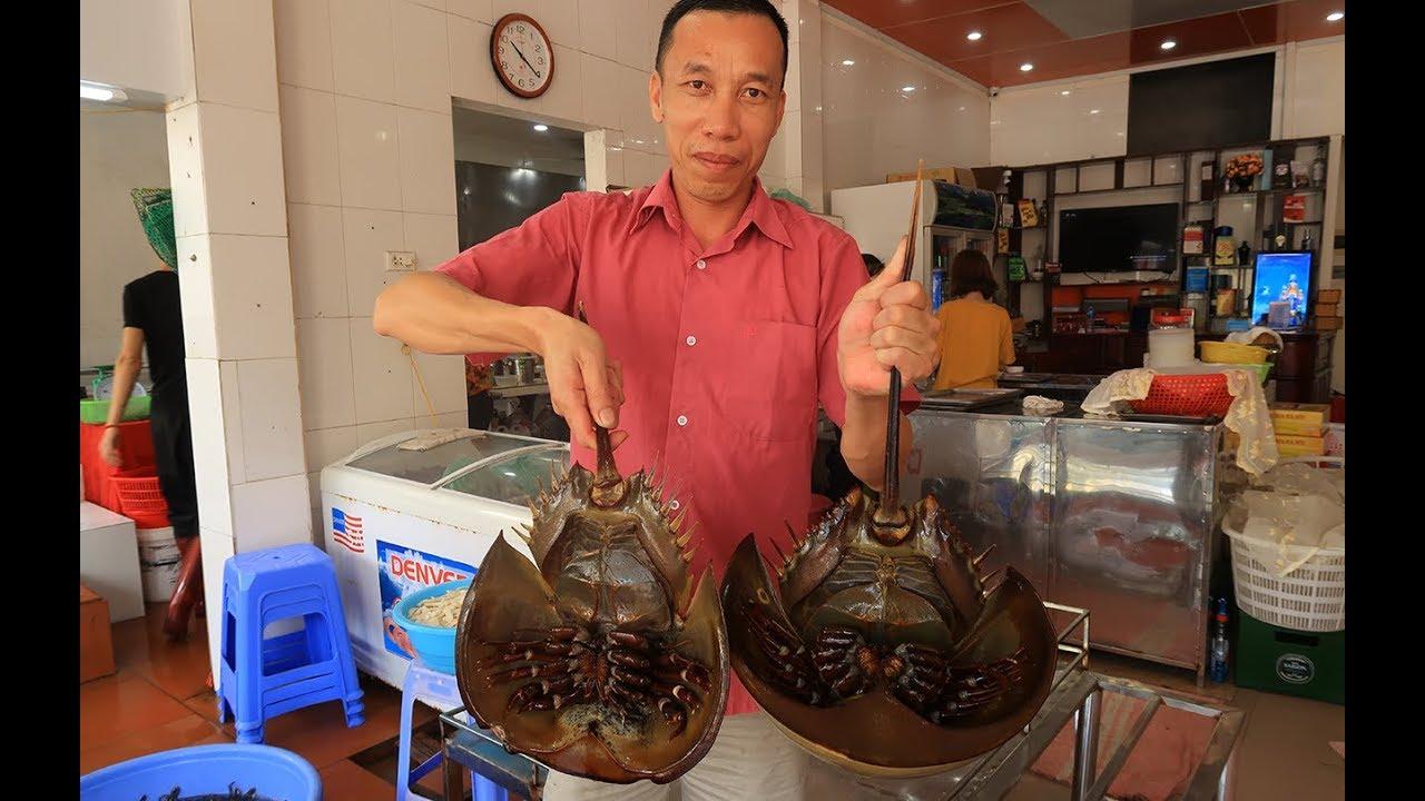 Cận cảnh làm Thịt Cặp Sam làm thành 10 món đặc sản Quảng Ninh