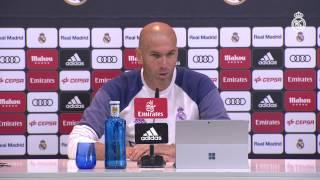 """Zidane: """"La Copa nos ilusiona y queremos dar el máximo para ganarla"""