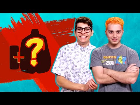 WEIRDEST FOOD COMBOS EVER w/ LASERCORN