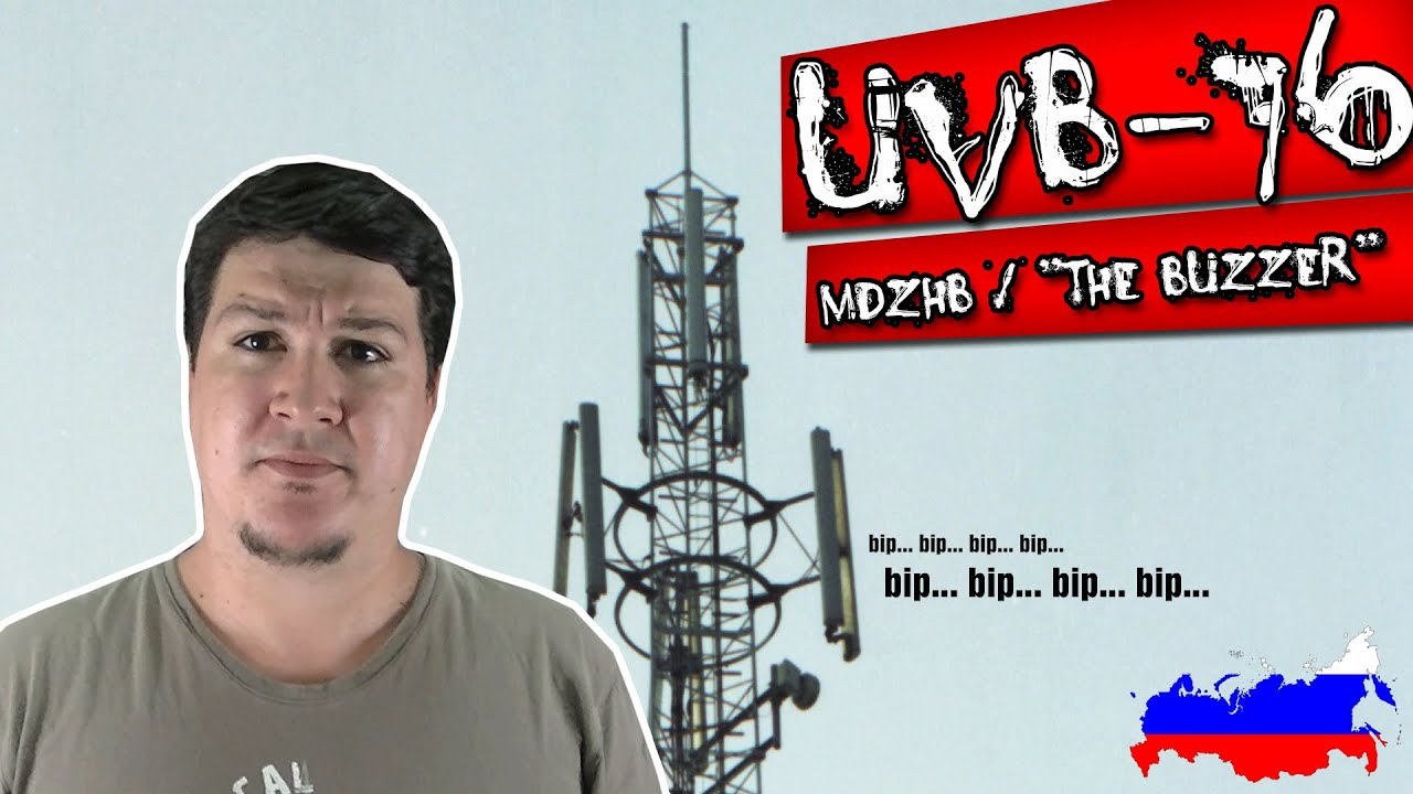 "UVB-76 / MDZhB / ""The Buzzer"": A Mais Misteriosa Rádio do Mundo"