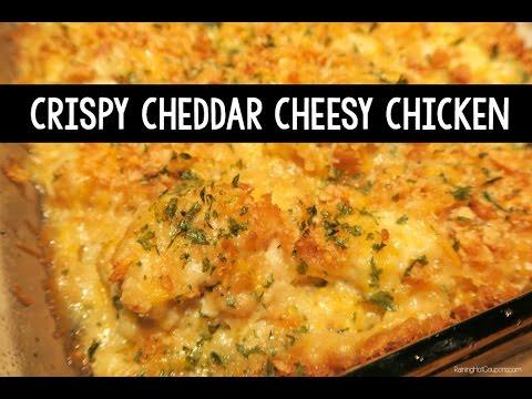 Crispy Cheddar Cheesy Chicken