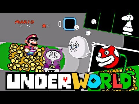 UNDERWORLD | Amazing Undertale Super Mario ROM Hack