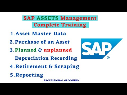 Asset management in SAP | Complete Training