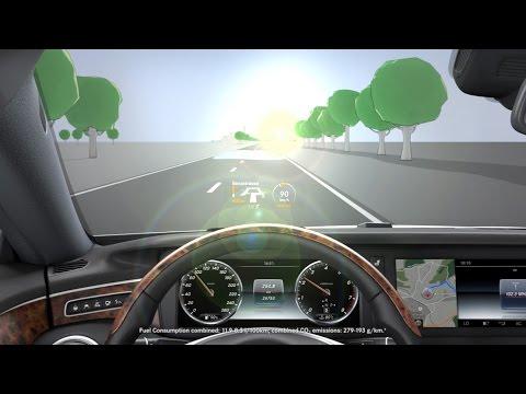 S class head up display mercedes benz original youtube for Mercedes benz of hilton head